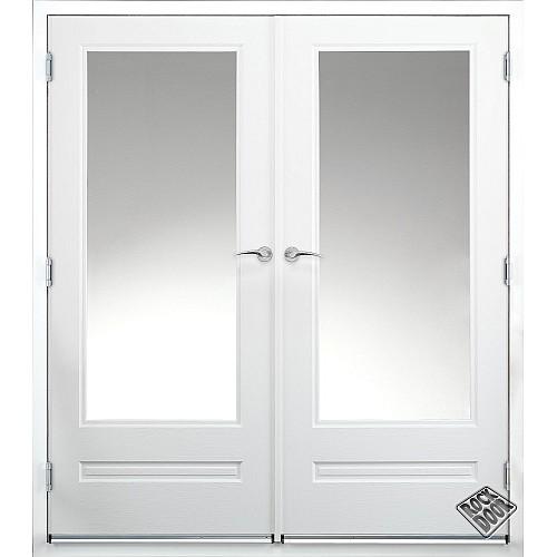 Rock Door Composite French Doors - (External) White