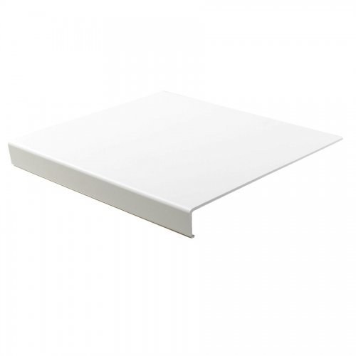 3mm x 2.5m White Thin UPVC Internal Window Cill Cover Board