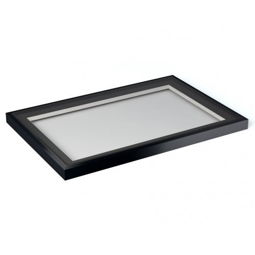 1000x1500 Flat Roof Light in Grey