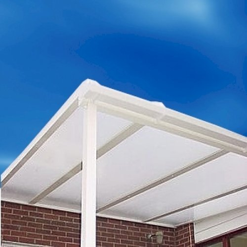 3500mm x 2400mm Commercial Door Roof Polycarbonate Canopy