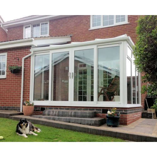 DIY Lean To 3.0m x 3.5m Conservatory Full Height Panels