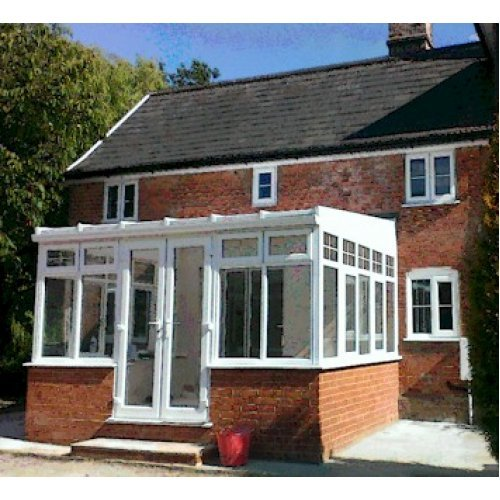 DIY Lean To 3m x 7m Conservatory on dwarf walls