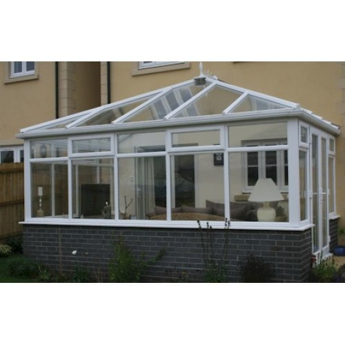 Edwardian 3.5m x 4.5m Conservatory On Dwarf Walls