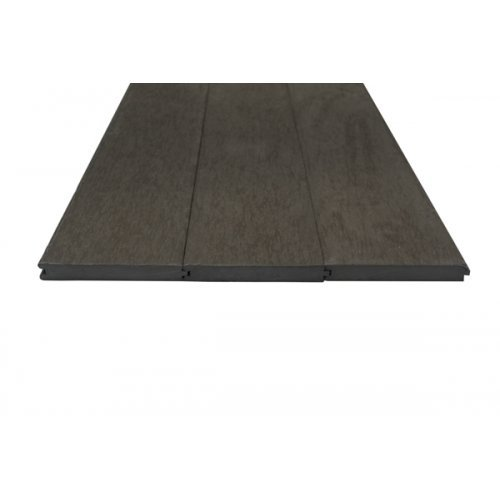 Caravan Dark Brown Solid Composite Plastic Decking Boards