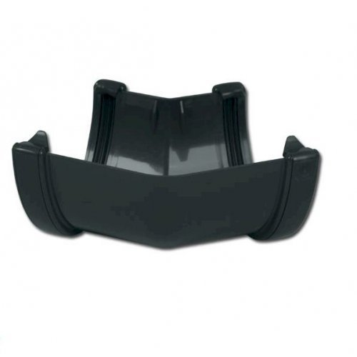Floplast Anthracite Grey High Capacity Gutter 135 186 Gutter