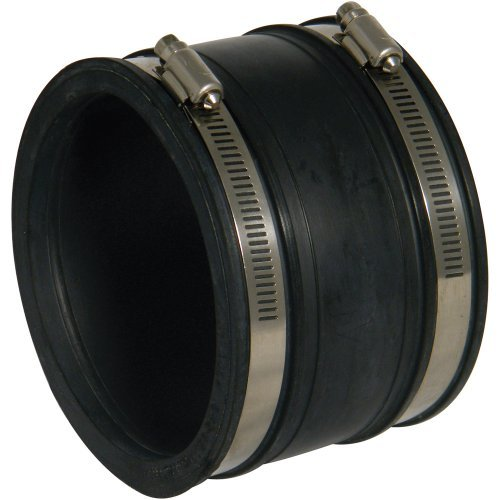 Floplast underground pipe coupling d102 for 90mm soil pipe