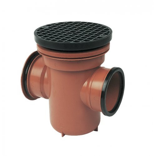 Floplast Underground Back Inlet Bottle Gully - D540