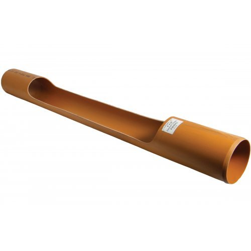 110mm Under Ground 1.5m Channel Access Pipe - Floplast D870
