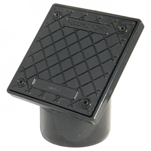 Floplast PVC Square Rodding Point (Spigot) - D883