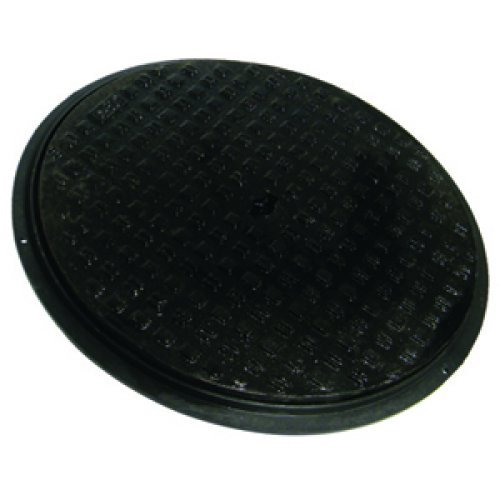 Floplast Cast Iron Cover and Plastic Frame - D923