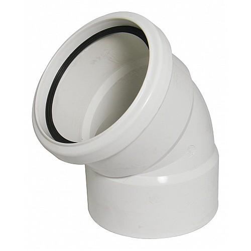 Floplast (SP435W) 135º Offset Bend - Bottom