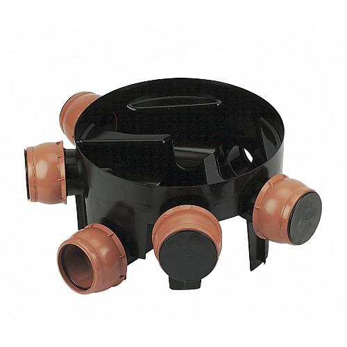 FloPlast 160mm x 160mm 90° Chamber Base - 6D900