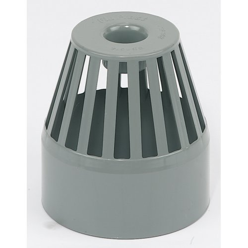 110mm Soil Pipe Grey Roof  Cowl SP302G