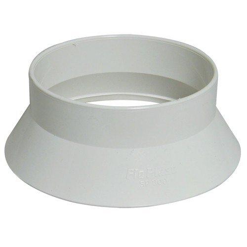 Floplast (SP300W) White Soil Pipe Roof Weathering Collar