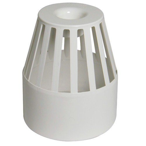 Floplast (SP302W) White Roof Cowl - Vent Terminal