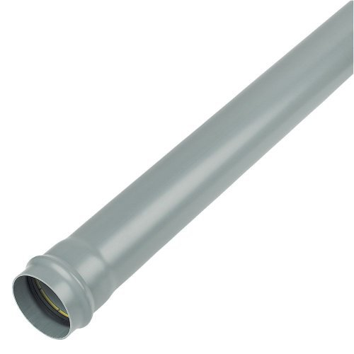 Floplast 110mm Soil Pipe 4m Grey SP4G
