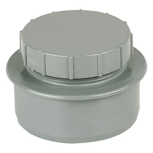 Floplast (SP292G) Grey Screwed Access Cap