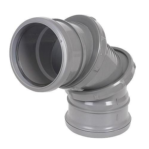 Floplast (SP560G) Adjustable Bend 0-90º Grey