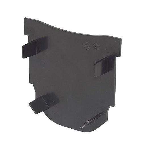 FloPlast FloDrain Closed End Cap Black 115mm x 103mm