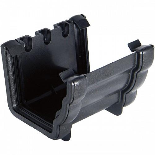 Floplast Cast Iron Effect 110mm Niagara Ogee Gutter Union/Joint