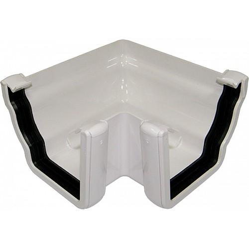 Floplast Niagara White 90º Gutter Angle