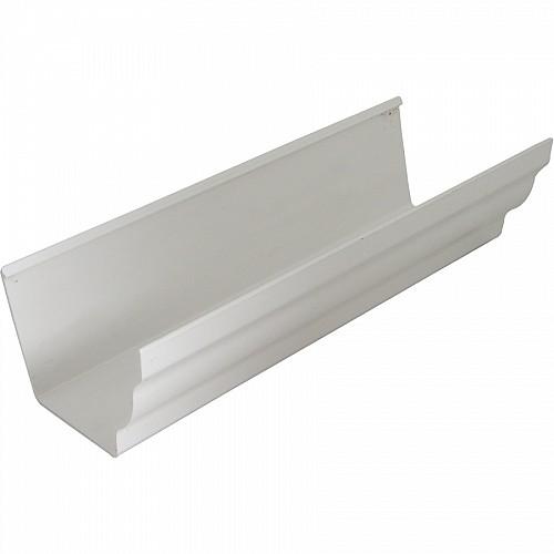 Floplast Plastic 4m Niagara Guttering White