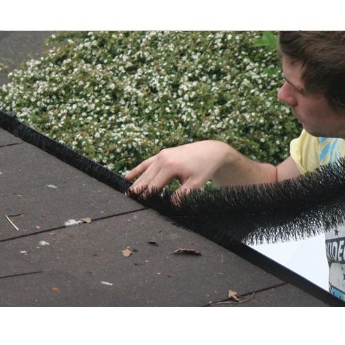 FloPlast GB4 White Gutter Brush 4m