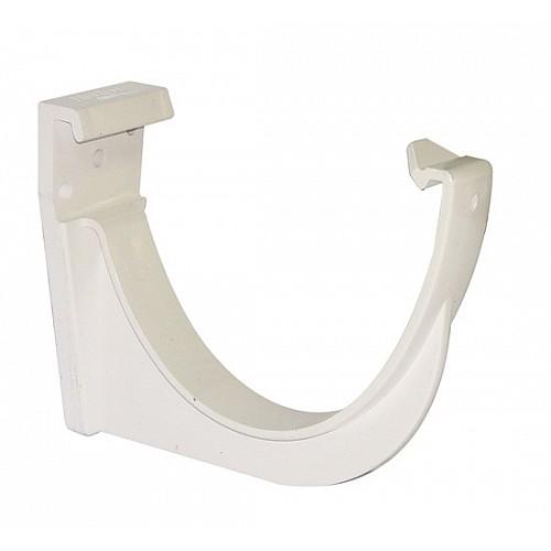 Floplast White 115mm Deep Flow Gutter Fascias Brackets