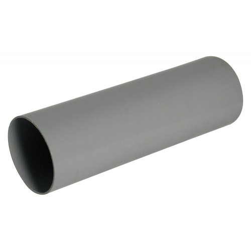 Floplast 68mm Grey Round 4m Downpipe (RP4G)