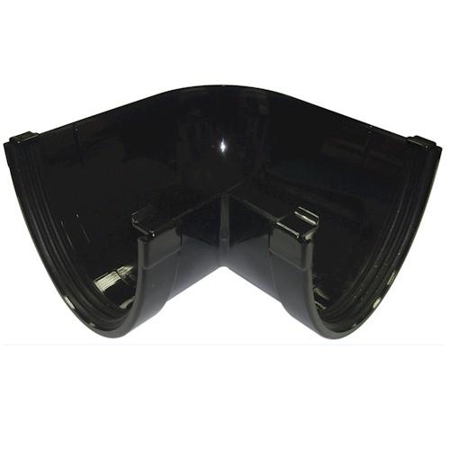 Floplast Xtraflo 170mm Gutter 90º Angle - Black