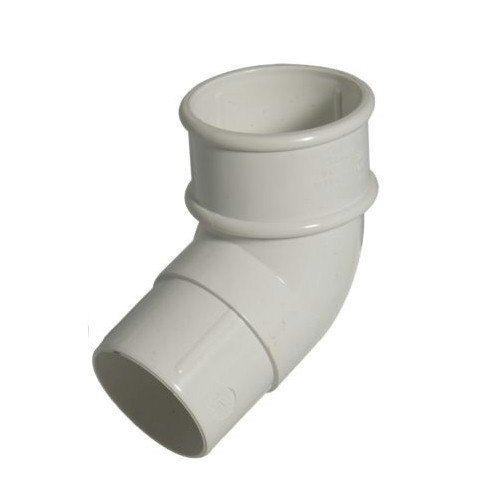 FloPlast 50mm Miniflo Downpipe 112.5° Offset Bend White