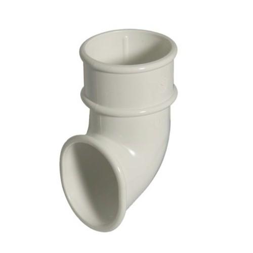 FloPlast 50mm Miniflo Downpipe Shoe - White