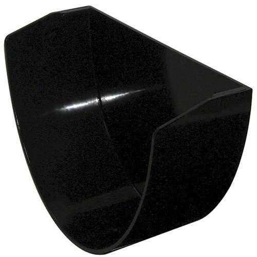 Floplast Xtraflo 170mm Gutter Internal Stopend - Black