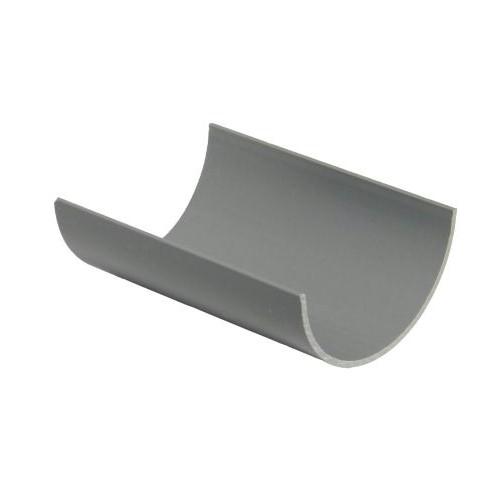 76mm Floplast Miniflo 2m Gutter - Grey
