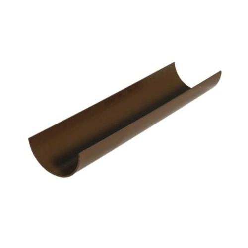 76mm x 2m Floplast Miniflo Gutter - Brown