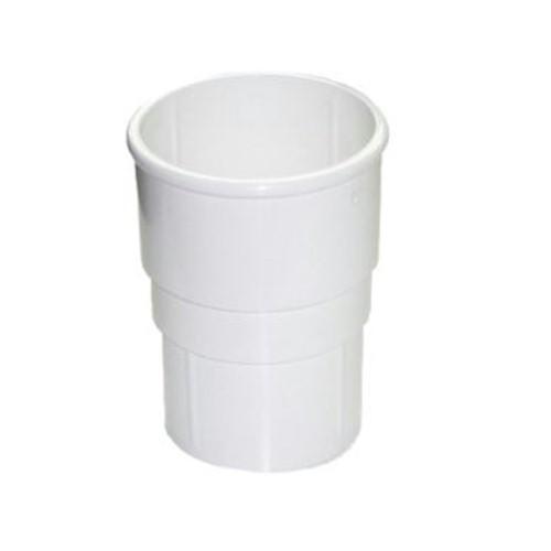 FloPlast 50mm Miniflo Downpipe Socket - White