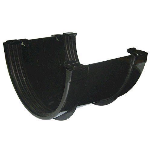 Floplast Xtraflo 170mm Gutter Union Bracket - Black