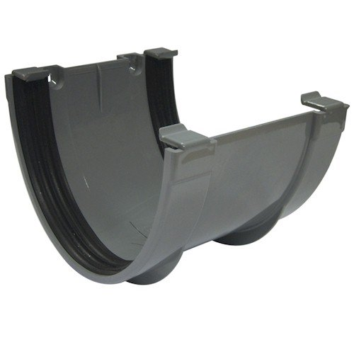 Floplast Xtraflo 170mm Gutter Union Bracket - Grey