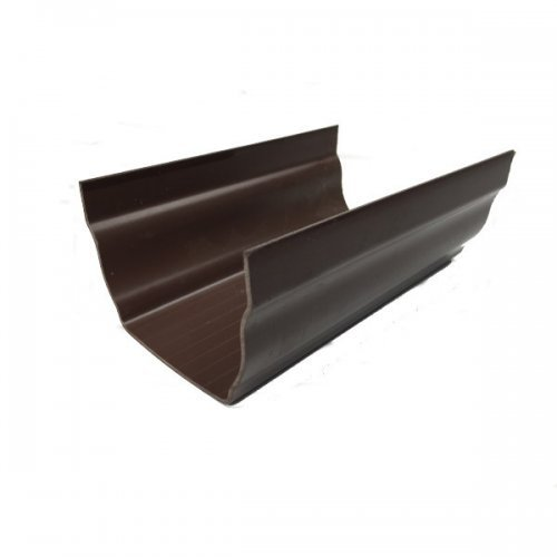 Brown Hunter Regency 4m Gutter