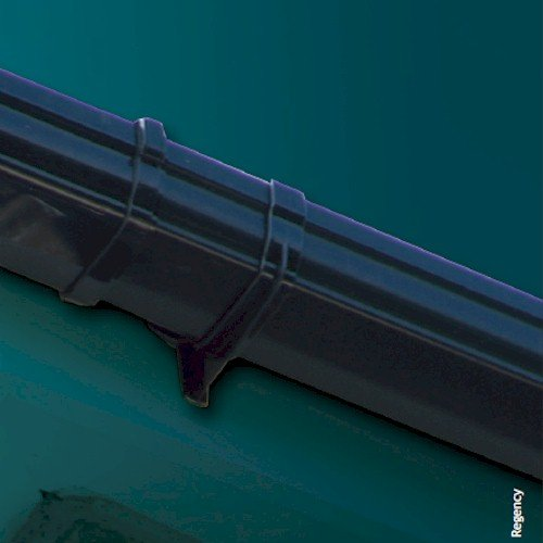 Black Hunter Regency 4m Gutter