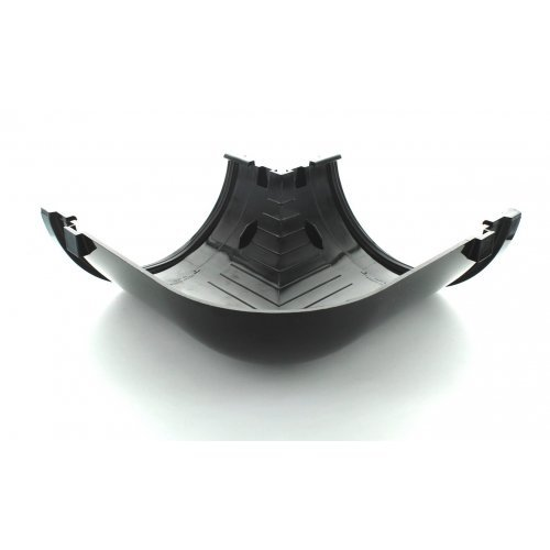 Hunter 170mm Highflo Industrial Gutter 90° Angle - Black