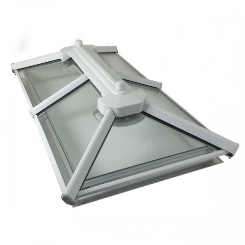Flat Roof Glass Rooflight Up To 1.0m x 2.0m - Made To Measure Skylights