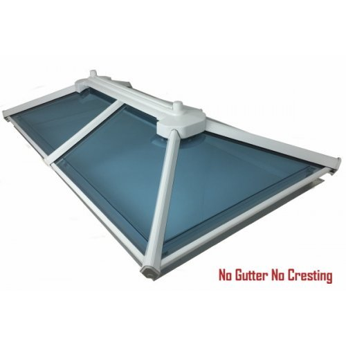 Flat Roof Glass Rooflight Up To 1.0m x 3.0m - Made To Measure Skylights