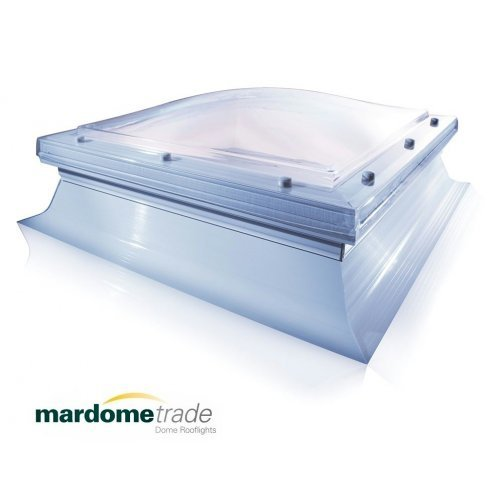 600 x 600 Mardome Roof dome with Kerb & fixing kit - 48h Delivery
