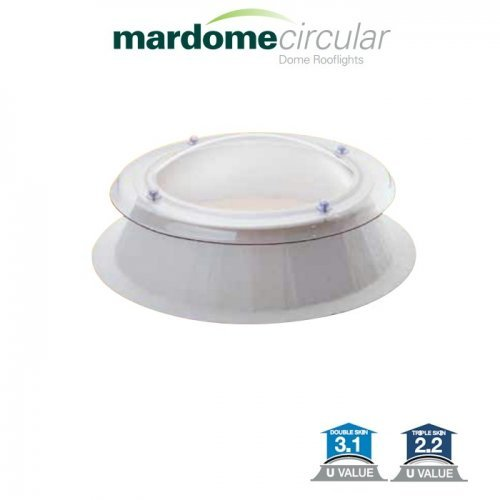 Mardome Circular Roof Dome 600mm