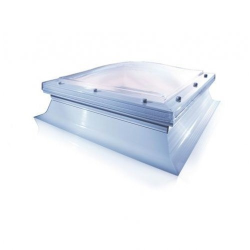 Glass 600 X 600 Fixed Dome With Sloping Kerb