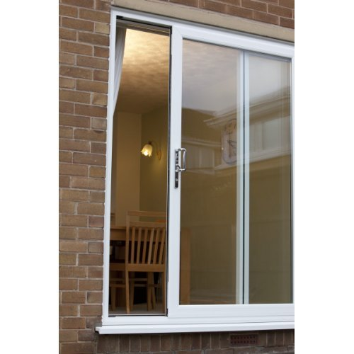 Upvc sliding patio door 4 pane a rated made to measure for Upvc balcony doors