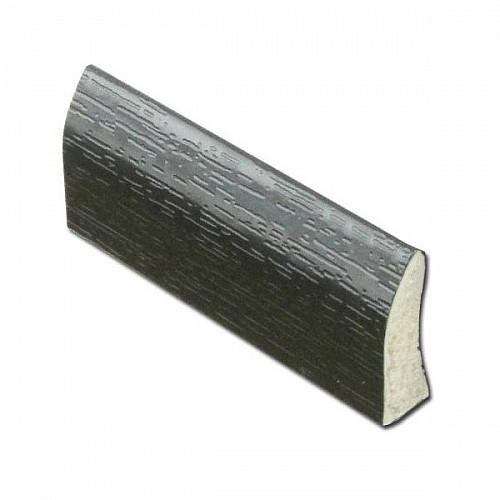 20mm Edge Fillet Trim uPVC - Black Ash