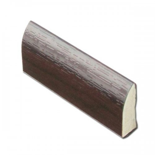 Rosewood 20mm uPVC Edge Fillet Trim