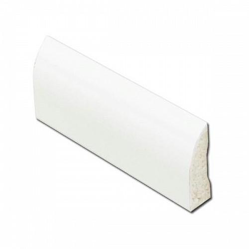 White 20mm uPVC Edge Fillet Trim
